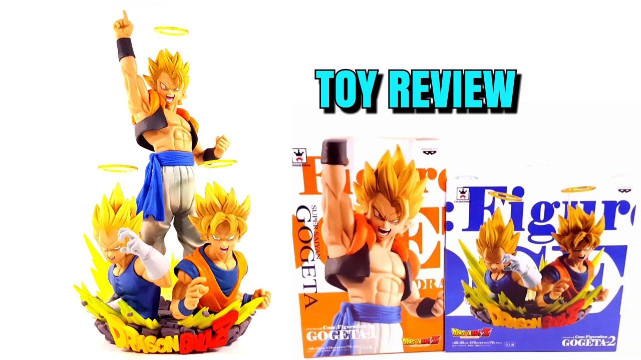 Banpresto Dragon ball Z Com Figuration Fusion Reborn Figure Vegeta Goku Gogeta