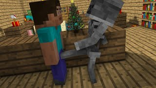 - Monster School Christmas Minecraft Animation
