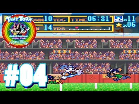 Touchdown! - #04 - LP Tiny Toon Adventures: Buster Busts Loose [Deutsch]