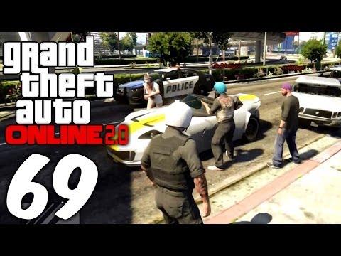 GTA Online 2.0 - #69 - Polizisten-Alltag in Los Santos [Deutsch/HD] - 동영상