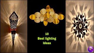 ❣️10 Best Lighting Home Decor Ideas❣️| Diy Room Decor | Crafts  | Do It Yourself | Fashion Pixies