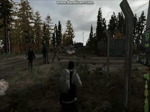 DayZ Going to the radio tower