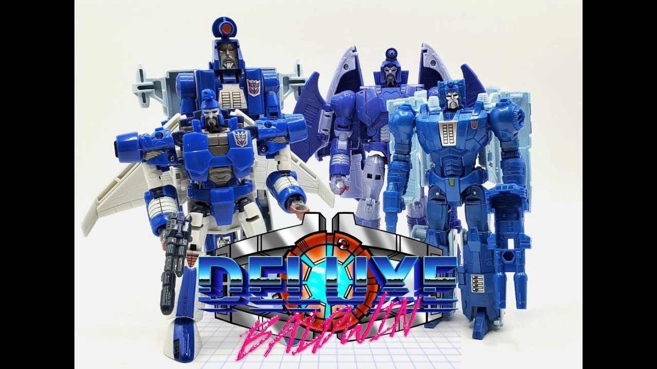 Transformer G1 VS Generations VS Titan Returns VS Studio Series Scourge Review by Deluxe Baldwin
