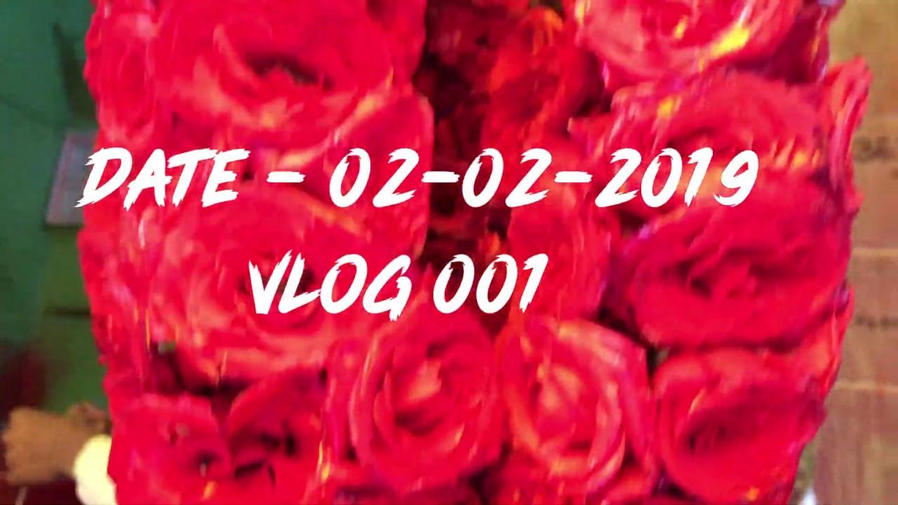 Namma Mysore flower market #1st vlog