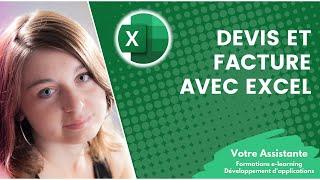 Créer un devis et une facture avec Excel