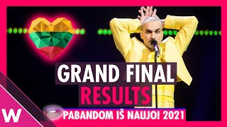 The Roop win Lithuania's Pabandom is Naujo | Eurovision 2021
