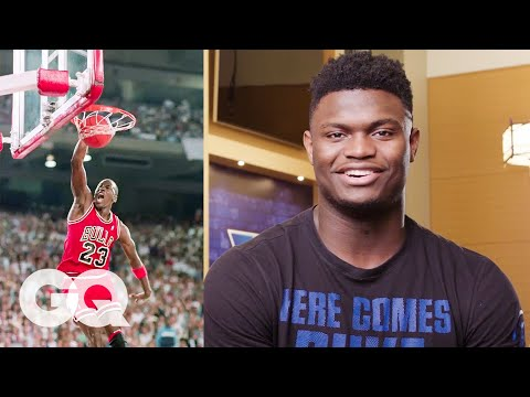 Zion Williamson, R.J. Barrett and the Duke Basketball Team Reveal Their NBA Heroes | GQ thumbnail