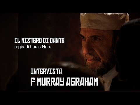 F Murray Abraham on set movie interview - Intervista al protagonista del film IL MISTERO DI DANTE