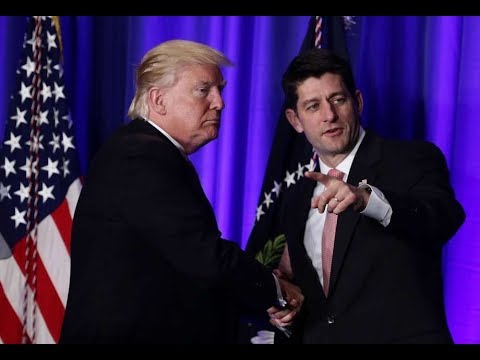 RINO Paul Ryan Credits President Donald Trump for Helping Pass the Republican Tax Bill in the House