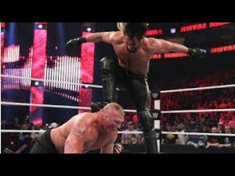Wrestlemania 2019. Seth Rollins Vs Brock Lesnar 2019. Wrestlemania 35 |Fun Mania|