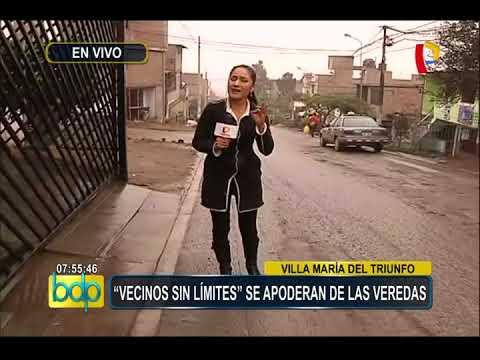 VMT: 'Vecinos sin límites' invaden veredas y se apoderan de postes
