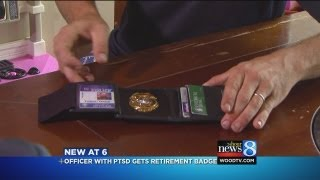 GRPD retiree gets his badge