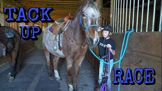 Tack Up Race and Snow Storm!