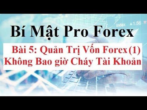 Bí Mật Pro Forex  Bài 5 - Cách Quản Trị Vốn Forex (1) - Cách đặt StopLoss TP Kiểm Soát Rủi Ro Forex