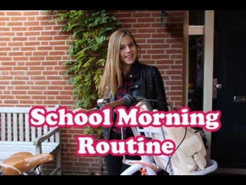 SCHOOL MORNING ROUTINE - NINA HOUSTON