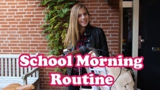 SCHOOL MORNING ROUTINE - NINA HOUSTON