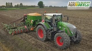 Fendt 939 S4  & Amazone Cirrus | Seeding wheat for 2017 | 4K