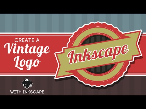 Inkscape for Beginners: Vintage Logo Tutorial