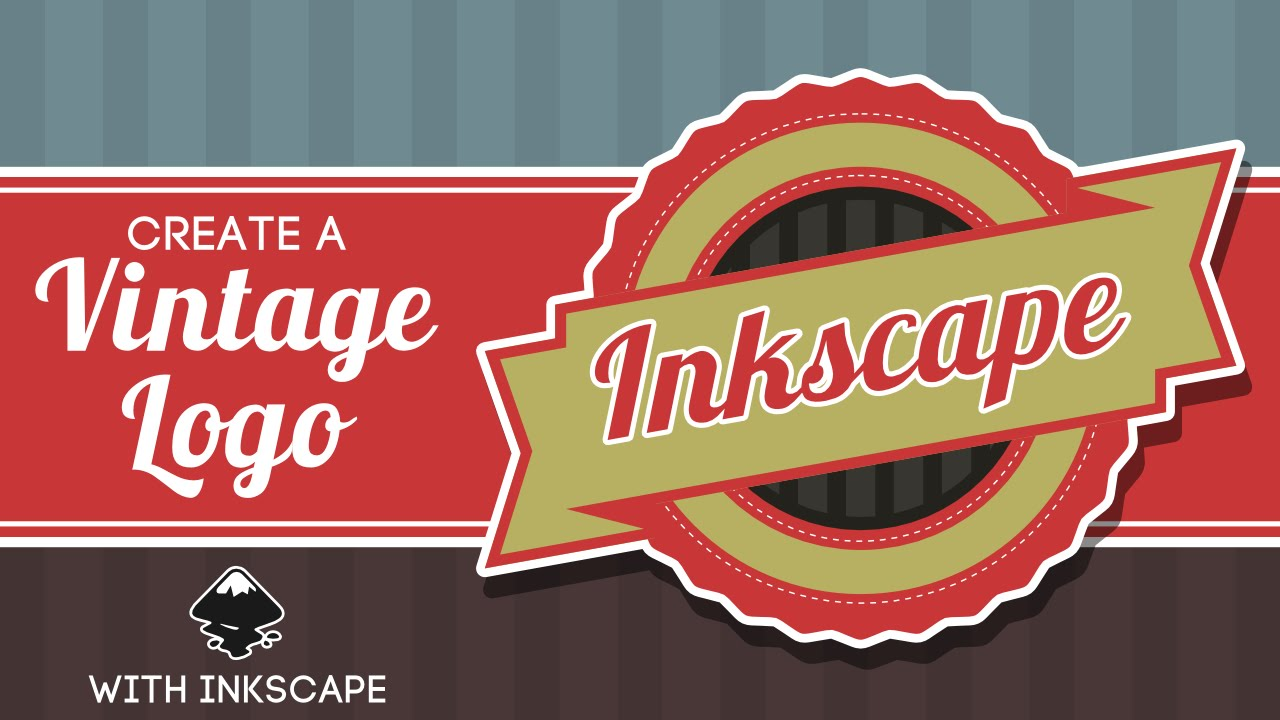 Inkscape for Beginners: Vintage Logo Tutorial