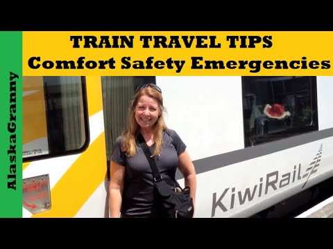 Train Travel Tips For Comfort and Safety