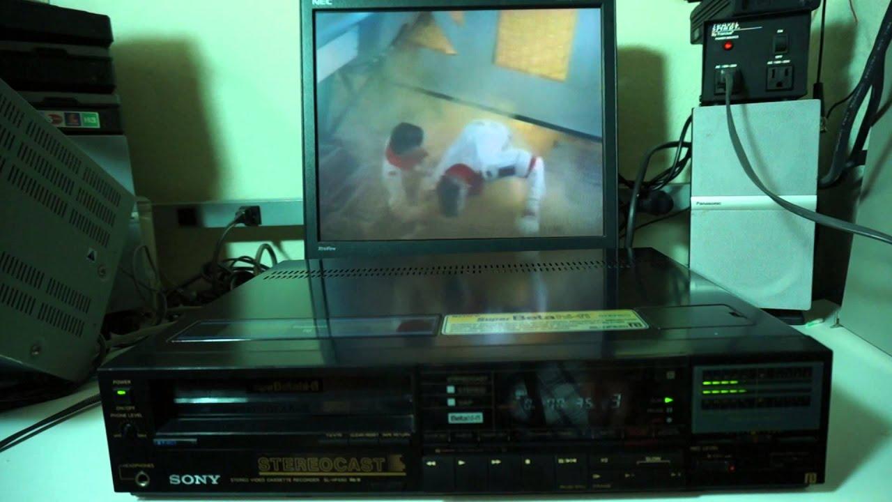 830 Se 4 magn/étoscope VHS Sony-SLV