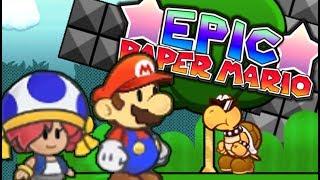 THE JOURNEY THROUGH WUN WUN WAY!! | EPIC PAPER MARIO