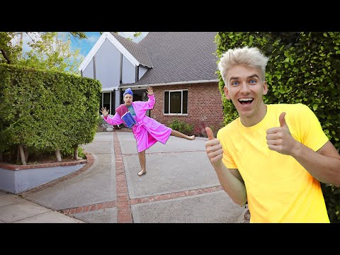 HOME ALONE PRANK ON GRACE SHARER!! (Spying On Sister For 24 Hours)