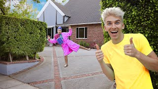 HOME ALONE PRANK ON GRACE SHARER Spying On Sister For 24 Hours