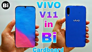 Vivo V11 New Look in Cardboard l How To Make Vivo l Paper,Cardboad l Briendined iPhones