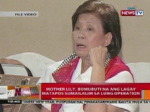 BT: Mother Lily, bumubuti na ang lagay nang sumailalim sa lung operation