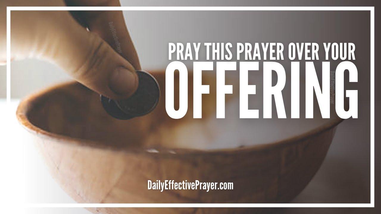 church offering prayer - 1280×720