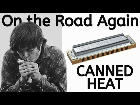 'On The Road Again' Harmonica Lesson (by Canned Heat's Alan Wilson Aka The Blind Owl)