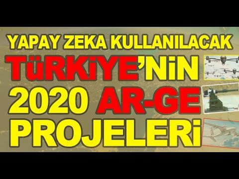 TÜRKİYE'NİN SİLAHLARI: 2020'ye Damgasını Vuracak 17 ARGE Projesi