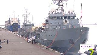 В Одессу зашли военные корабли НАТО, которые примут участие в маневрах в Черном море