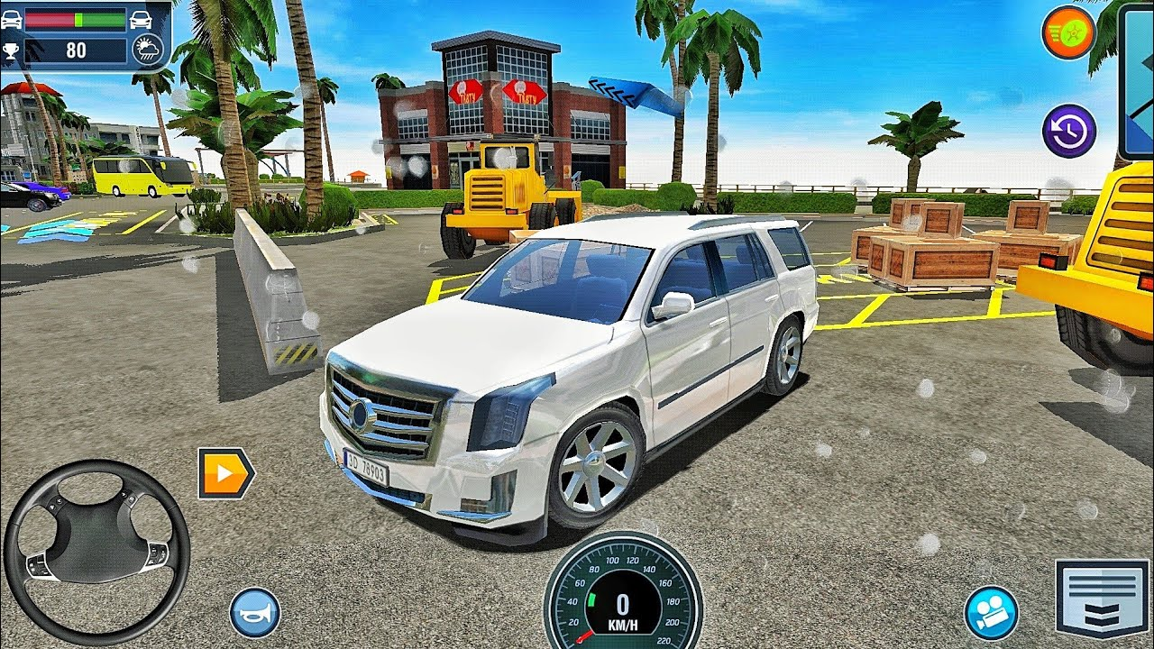 Car Driving School Simulator - Powerful Suv Driving in Miami City - Car Games Android Gameplay