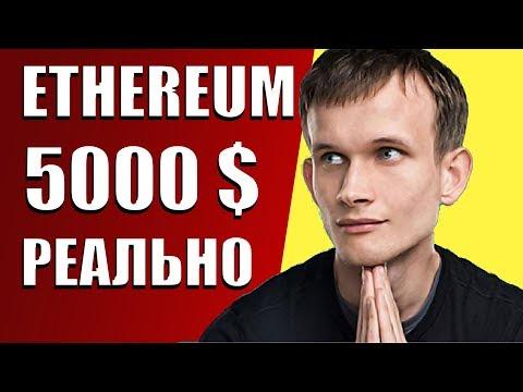 ETHEREUM ЗА 5000! ОБЗОР КРИПТОВАЛЮТЫ ЭФИРИУМ
