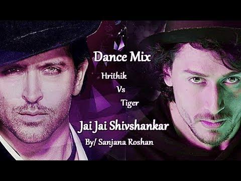 Jai Jai Shivshankar - Dance Mix   Hrithik Roshan   Tiger Shroff   War