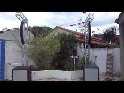 DJ Ricardo Vidal - Teste Line Array SKP Church Line