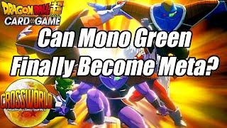 Can Set 10 Make Mono Green Meta? - Dragon Ball Super Card Game