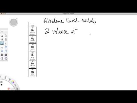 Valence Electrons - Gaining and Losing Electrons