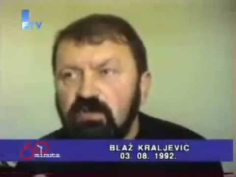 Hrvatska agresija na BiH - Ko i zasto je ubio Blaza Kraljevica.
