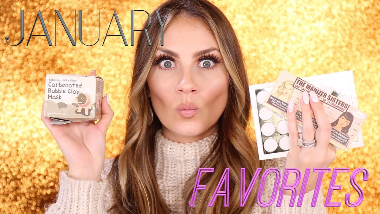 January Favorites 2016 / Makeup, Skincare, Hair and Beauty