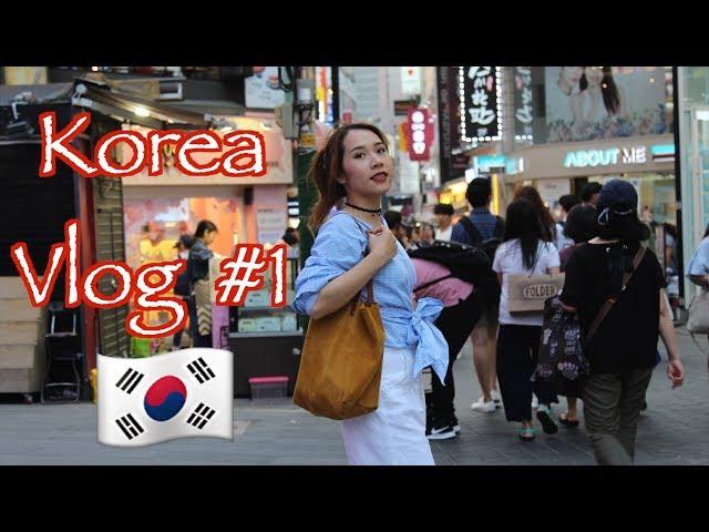 Korea vlog #1: Đến Seoul - Khách sạn ở Myeongdong