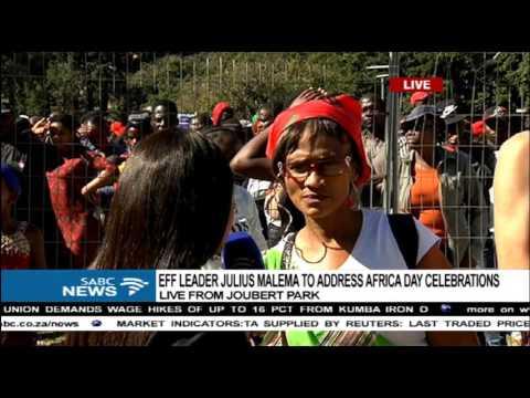 EFF hosts Africa Day celebrations in Joubert Park