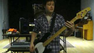 """Smashing Pumpkins Bassist Audition - """"Set the Ray to Jerry"""""""
