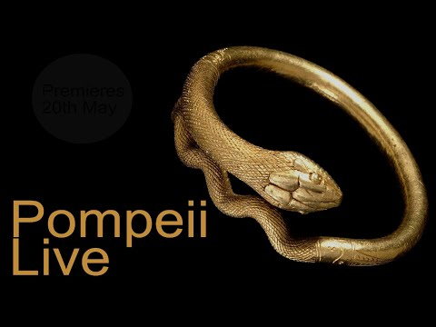 Pompeii Live from the British Museum