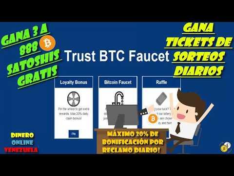 Ganar Bitcoin Gratis 2018 | Trust BTC Faucet #Pagando | Win free satoshis 2018