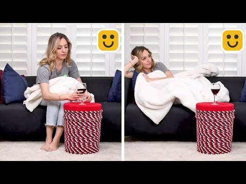 Unbelievably Helpful DIY Arts and Crafts | DIY Bucket Chairs You'll Chair-rish!