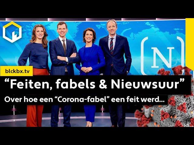 """""""Feiten, fabels & Nieuwsuur"""". Over hoe een """"Corona-fabel"""" een feit werd..."""
