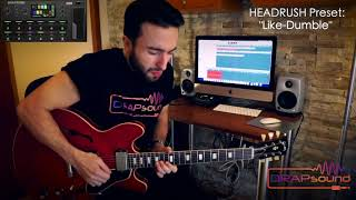 "Luca Privitera plays HEADRUSH Preset: ""Like-Dumble"" - isolated track"